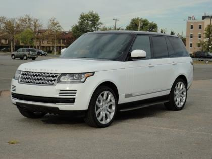 2014 LAND ROVER RANGE ROVER HSE - WHITE ON BLACK 3