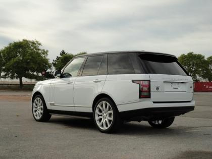 2014 LAND ROVER RANGE ROVER HSE - WHITE ON BLACK 6