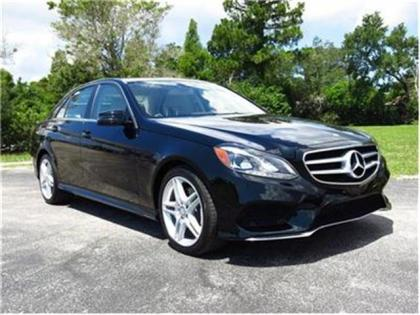 Export New 2014 Mercedes Benz E350 Base Black On Beige