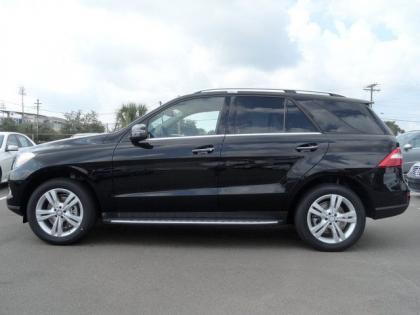 Export New 2014 Mercedes Benz Ml350 Base Black On Black