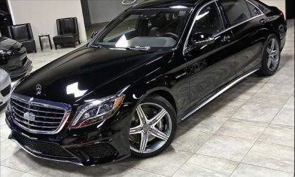2014 MERCEDES BENZ S63 AMG - BLACK ON BLACK