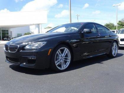 2015 BMW 640 I GRAN COUPE - BLACK ON BLACK