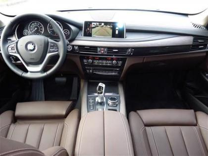 2015 BMW X5 XDRIVE35I - WHITE ON BROWN 4