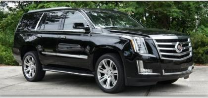 2015 CADILLAC ESCALADE LUXURY - BLACK ON BLACK 1