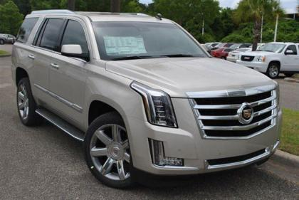 2015 CADILLAC ESCALADE LUXURY - SILVER ON GRAY