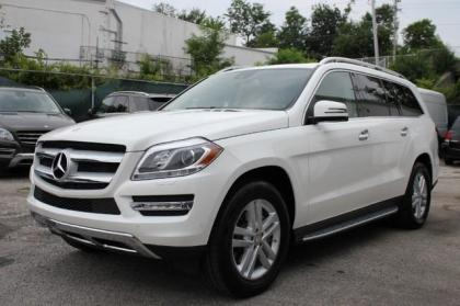 2015 MERCEDES BENZ GL350 BLUTEC - WHITE ON BEIGE