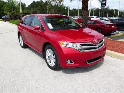 2015 TOYOTA VENZA LE - RED ON BEIGE