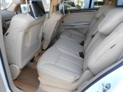 2012 MERCEDES BENZ GL550 4MATIC - WHITE ON CASHMERE 4
