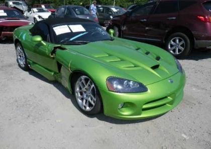 2008 DODGE VIPER SRT-10 - GREEN ON BLACK