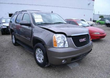 2012 GMC YUKON SLT - GRAY ON GRAY