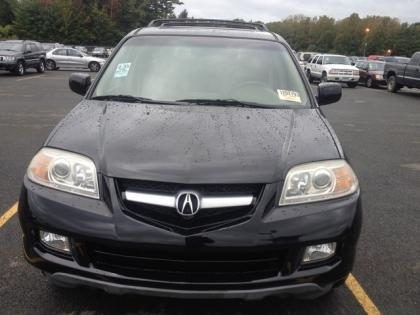 Acura   Mileage on 2006 Acura Mdx Awd   Black On Beige