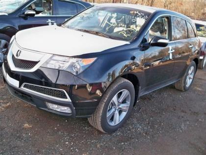 2012 ACURA MDX AWD - BLACK ON BLACK