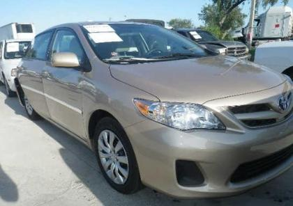 2012 TOYOTA COROLLA LE - GOLD ON BEIGE