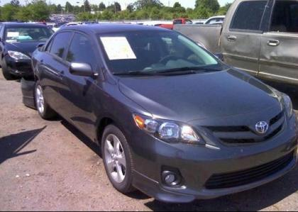 2012 TOYOTA COROLLA S - GRAY ON GRAY