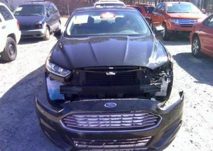 Export Salvage 2013 Ford Fusion Se Black On Black
