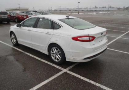 Ford Fusion White And Black >> Export Salvage 2013 FORD FUSION TITANIUM - WHITE ON BEIGE