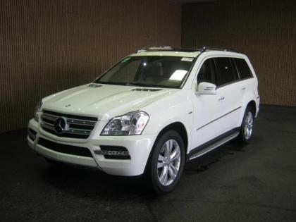 2012 MERCEDES BENZ GL350 BLUTEC - WHITE ON BEIGE