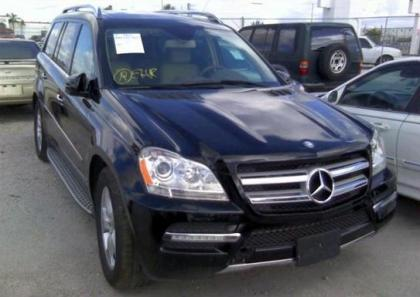 2012 MERCEDES BENZ GL450 4MATIC - BLACK ON BEIGE