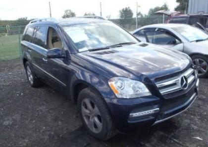 2012 MERCEDES BENZ GL450 4MATIC - BLUE ON BEIGE