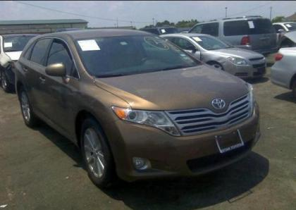 2012 TOYOTA VENZA XLE - BROWN ON BEIGE