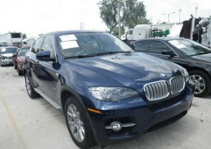 2012 BMW X6 XDRIVE50I - BLUE ON BEIGE