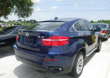 Xdrive50i on Export Salvage 2012 Bmw X6 Xdrive50i   Blue On Beige