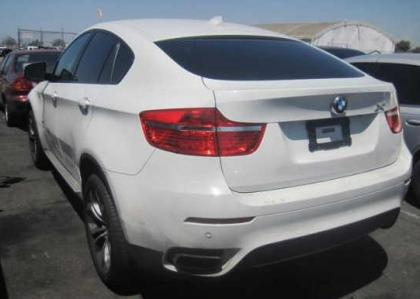 Xdrive50i on Export Salvage 2011 Bmw X6 Xdrive50i   White On White