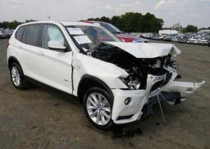 2013 BMW X3 XDRIVE28I - WHITE ON BEIGE