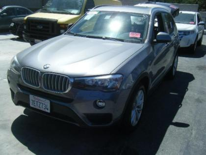 2015 BMW X3 XDRIVE28 - BLACK ON BLACK