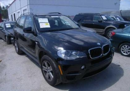 2012 BMW X5 XDRIVE35I - BLACK ON BLACK