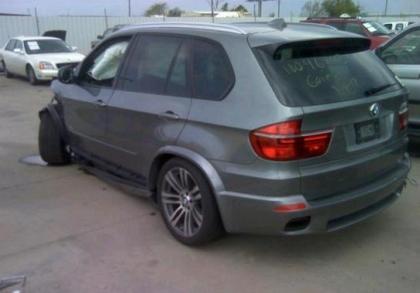 Export Salvage 2013 Bmw X5 Xdrive50i Gray On Black