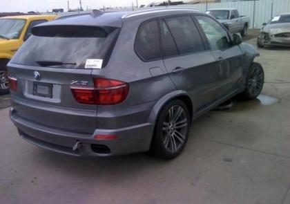 Export Salvage 2013 Bmw X5 Xdrive50i Gray On Black