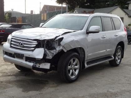 2012 LEXUS GX460 PREMIUM - SILVER ON BLACK