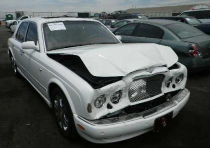 2007 BENTLEY ARNAGE R - WHITE ON BEIGE