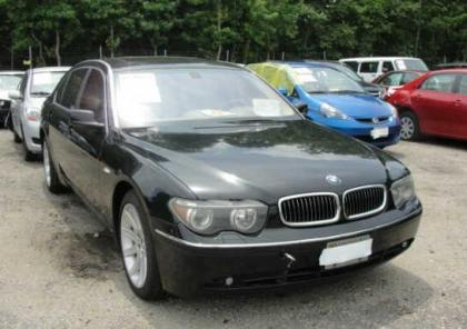 2003 BMW 745 LI - BLACK ON BEIGE