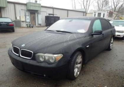 2004 BMW 745 LI - BLACK ON BEIGE 2