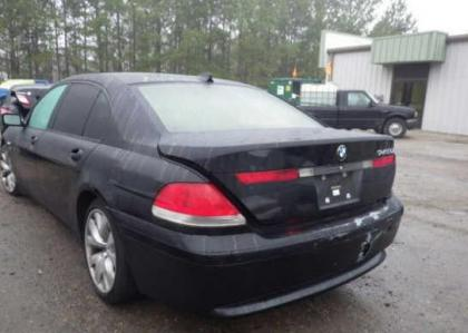 2004 BMW 745 LI - BLACK ON BEIGE 3