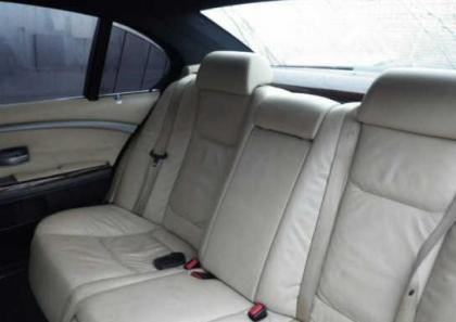 2004 BMW 745 LI - BLACK ON BEIGE 8