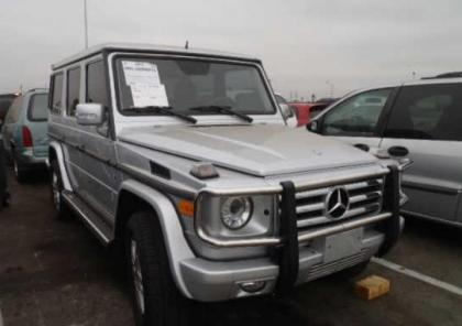 2012 MERCEDES BENZ G550 4MATIC - SILVER ON BLACK