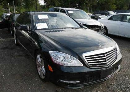 2012 MERCEDES BENZ S550 4MATIC - BLACK ON BLACK