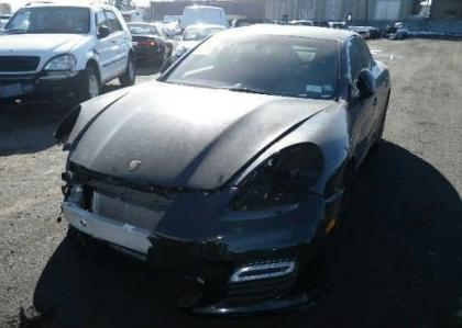 2012 PORSCHE PANAMERA TURBO S - BLACK ON BLACK 2