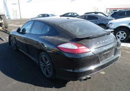 2012 PORSCHE PANAMERA TURBO S - BLACK ON BLACK 3