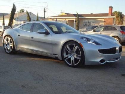 2012 FISKER KARMA ECOCHIC - SILVER ON GRAY