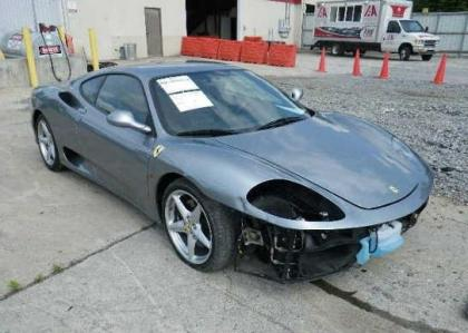 2003 FERRARI 360 BASE - GRAY ON GRAY