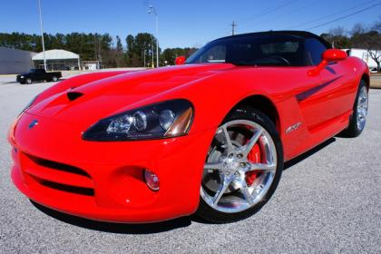 2009 DODGE VIPER SRT-10 - RED ON BLACK