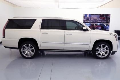 2015 CADILLAC ESCALADE ESV - WHITE ON GRAY 4