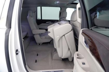 2015 CADILLAC ESCALADE ESV - WHITE ON GRAY 7