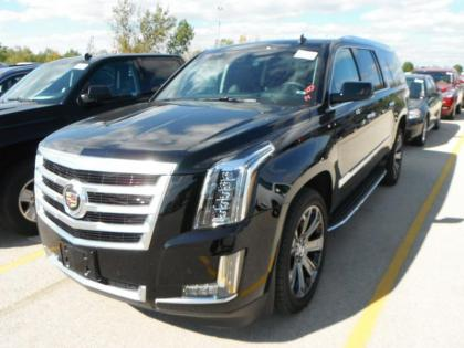 2015 CADILLAC ESCALADE ESV - BLACK ON BLACK