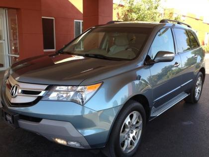 2008 ACURA MDX TECHNOLOGY PACKAGE - BLUE ON BEIGE