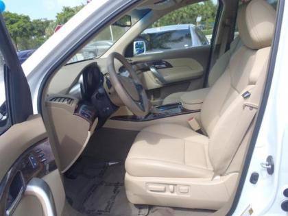2011 Acura  on Export Used 2011 Acura Mdx Awd   White On Beige